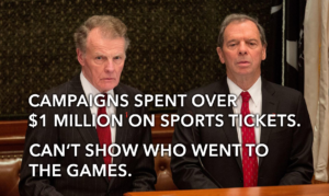 Illinois lawmakers buy over $1 million in sports tickets